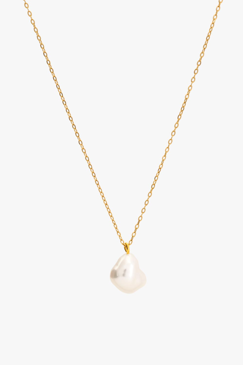 Perle necklace gold
