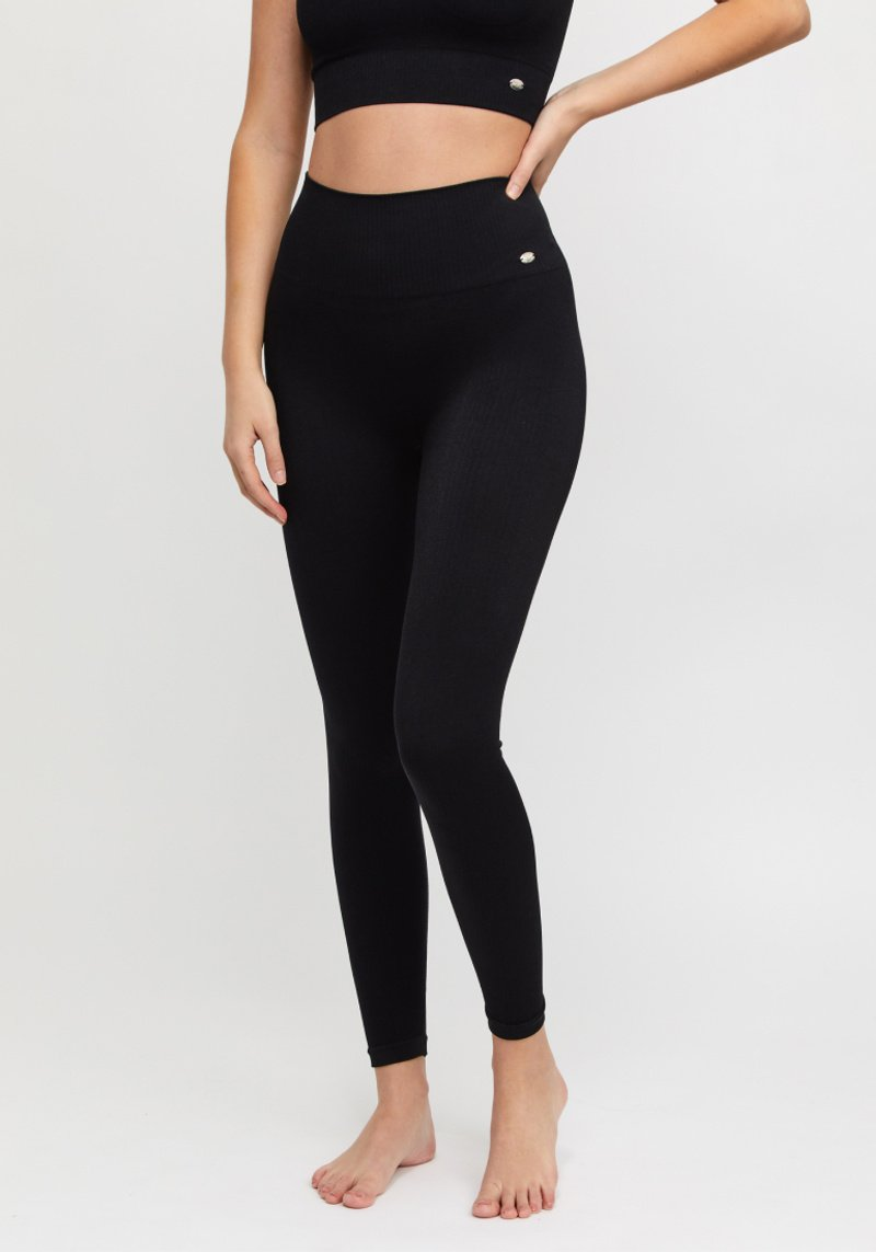 Jeane tights ribbed seamless