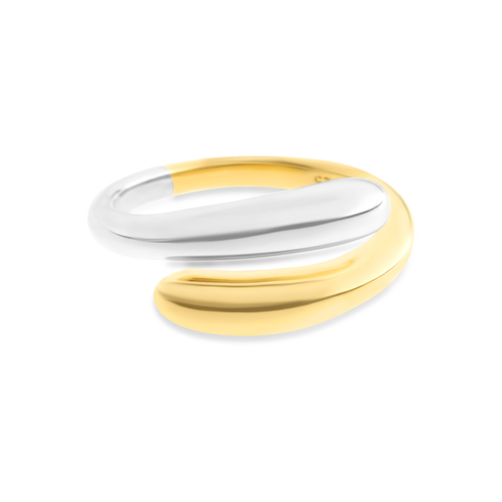 24k Gold Plated Mixed Baby Embrace Ring
