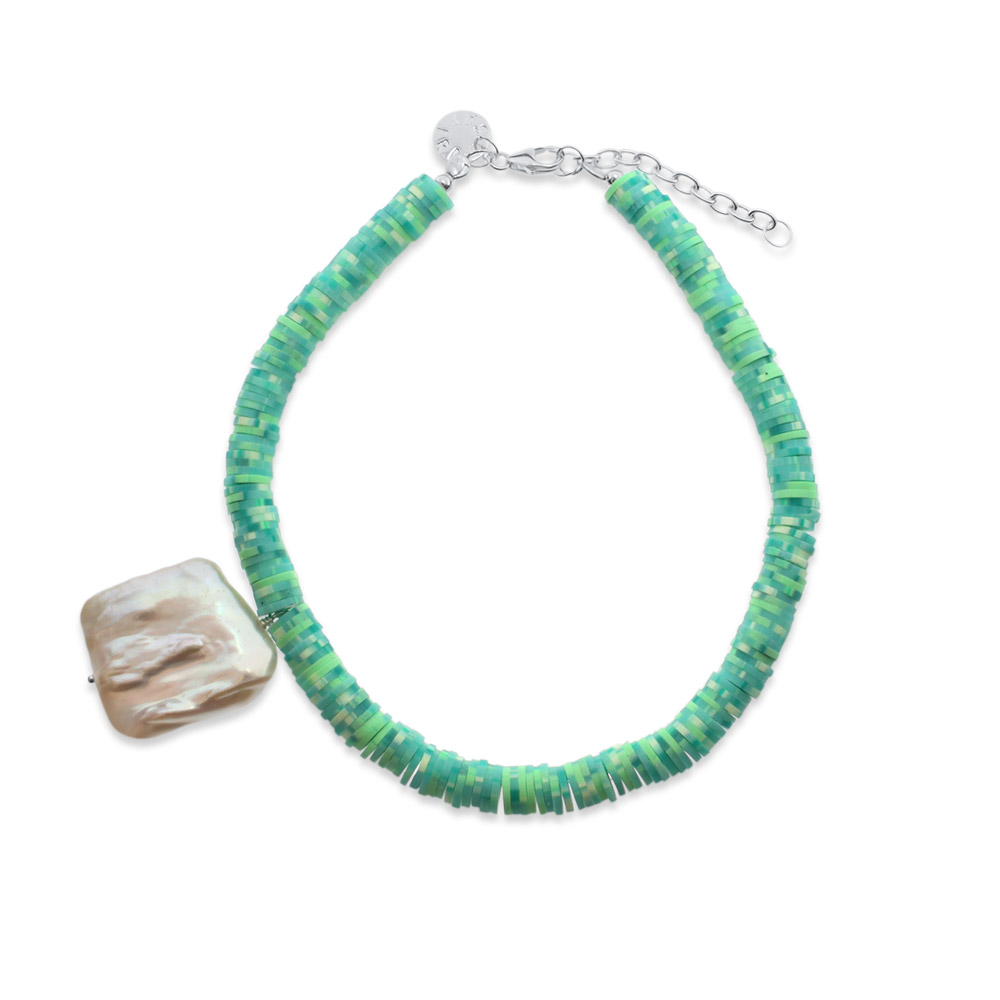 Iris Sterling Silver Anklet